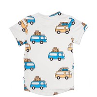 CarlijnQ - road trippin' - t-shirt short sleeve drop back