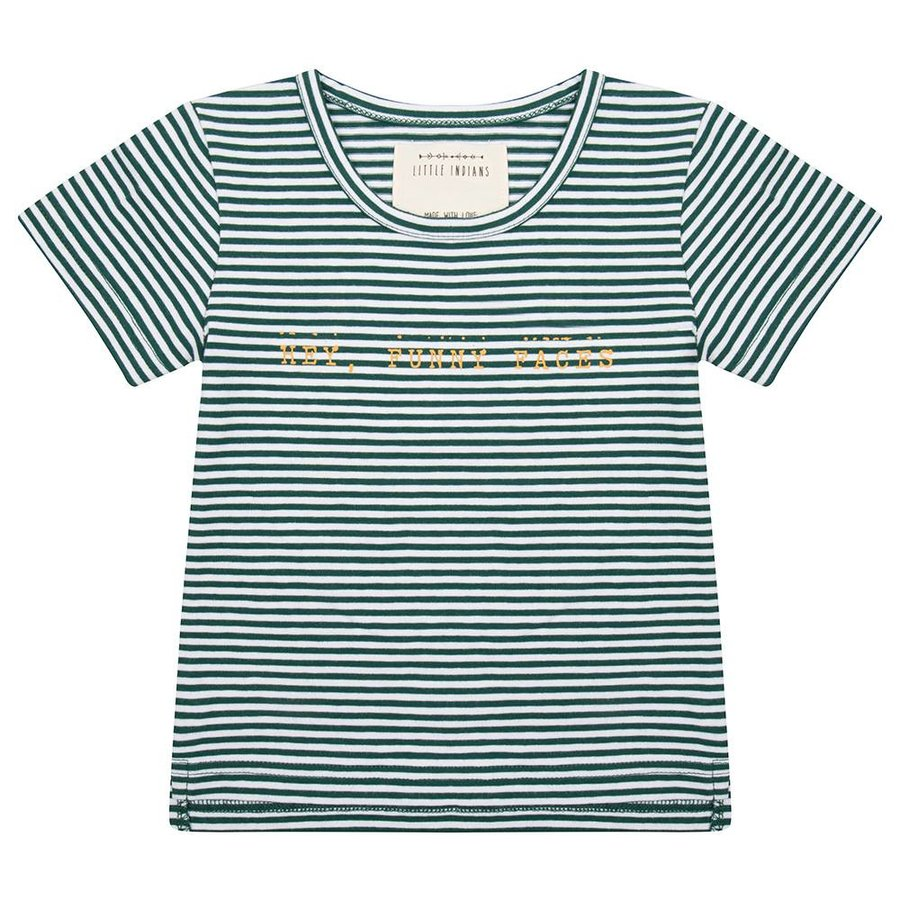 Little indians - Shirt Hey, Funny Faces Forest stripe-1
