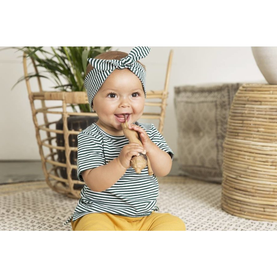 Little indians - Shirt Hey, Funny Faces Forest stripe-3
