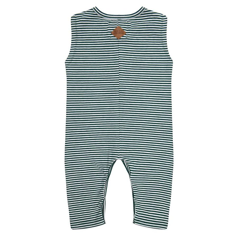 Little indians - Jumpsuit Forest Stripe-2