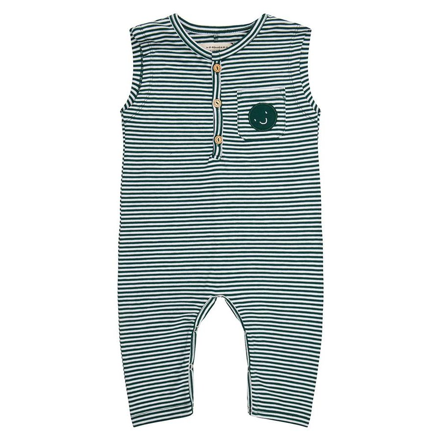 Little indians - Jumpsuit Forest Stripe-1