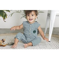 thumb-Little indians - Jumpsuit Forest Stripe-3