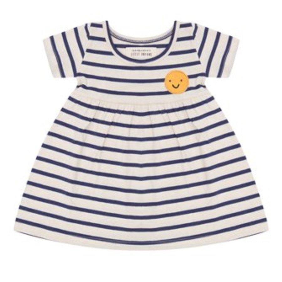 Little indians - Dress - Smiley summer stripe-1
