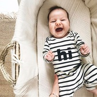thumb-Organic Zoo - Playsuit Hi - Breton-2
