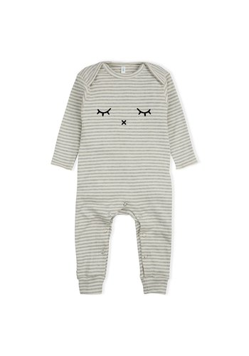 Playsuit Sleepy - Grey Stripes
