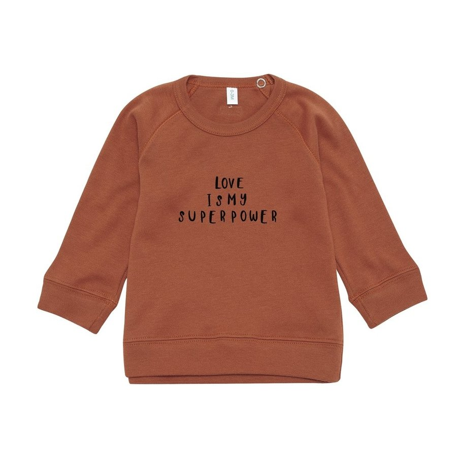 Organic Zoo - Sweatshirt Love-1