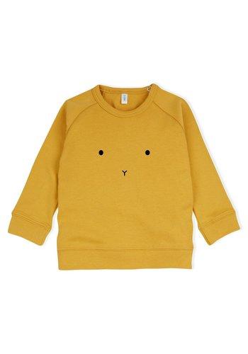 Sweatshirt Bunny - Mosterdgeel