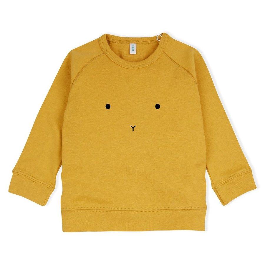 Organic Zoo - Sweatshirt Bunny - mosterdgeel-1