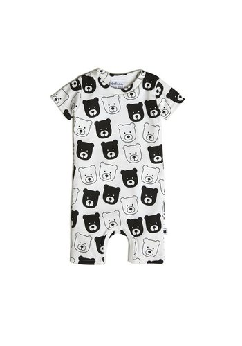 Bear short romper
