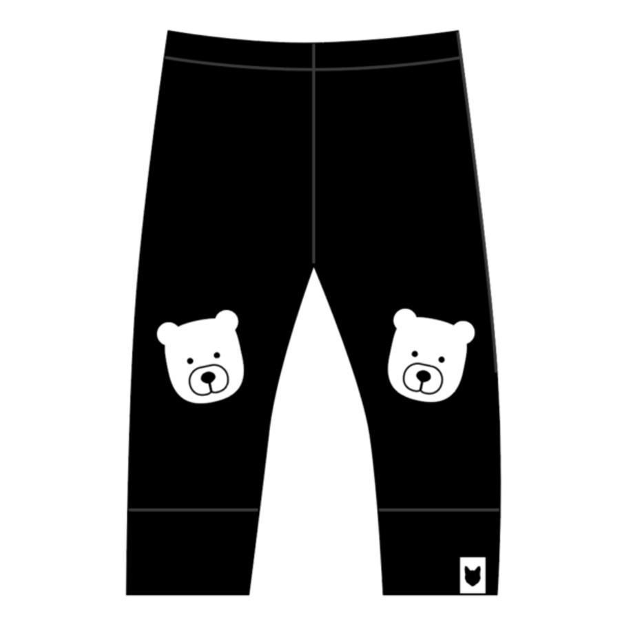 Tobias and the Bear - Bear Portrait Leggings-1