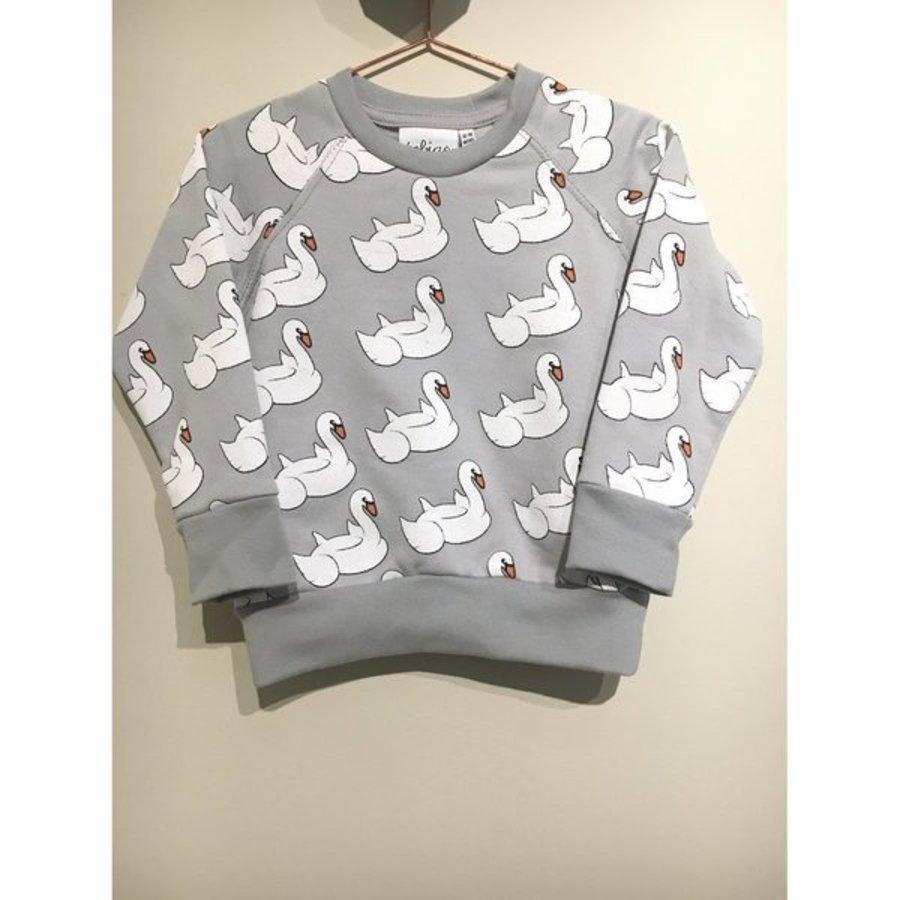 Tobias and the Bear - Swan Float sweatshirt-1