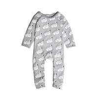 Tobias and the Bear - Swan Float long romper