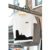 2800 by Mini Monsters 2800 by Mini Monsters - Skyline Mechelen T-shirt Wit