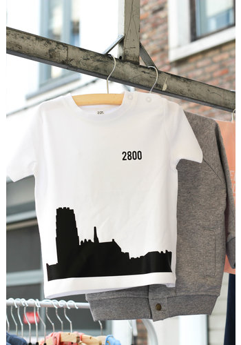 Skyline Mechelen T-shirt Wit