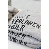 """thumb-2800 by Mini Monsters - """"Hart verloren onder den Toren"""" Sweater Grijs Vrouw-2"""