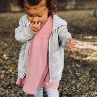 thumb-Frieda Frei Jerseydress - Little Party pink-2