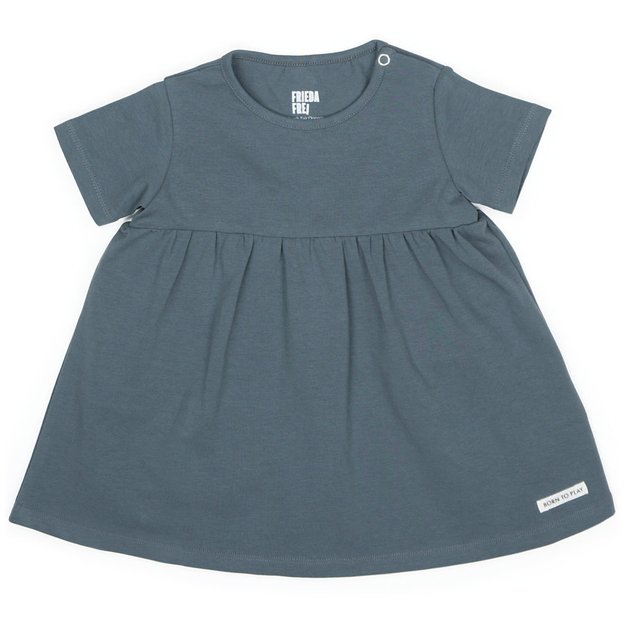 Frieda Frei Jerseydress - Little Party grey-1