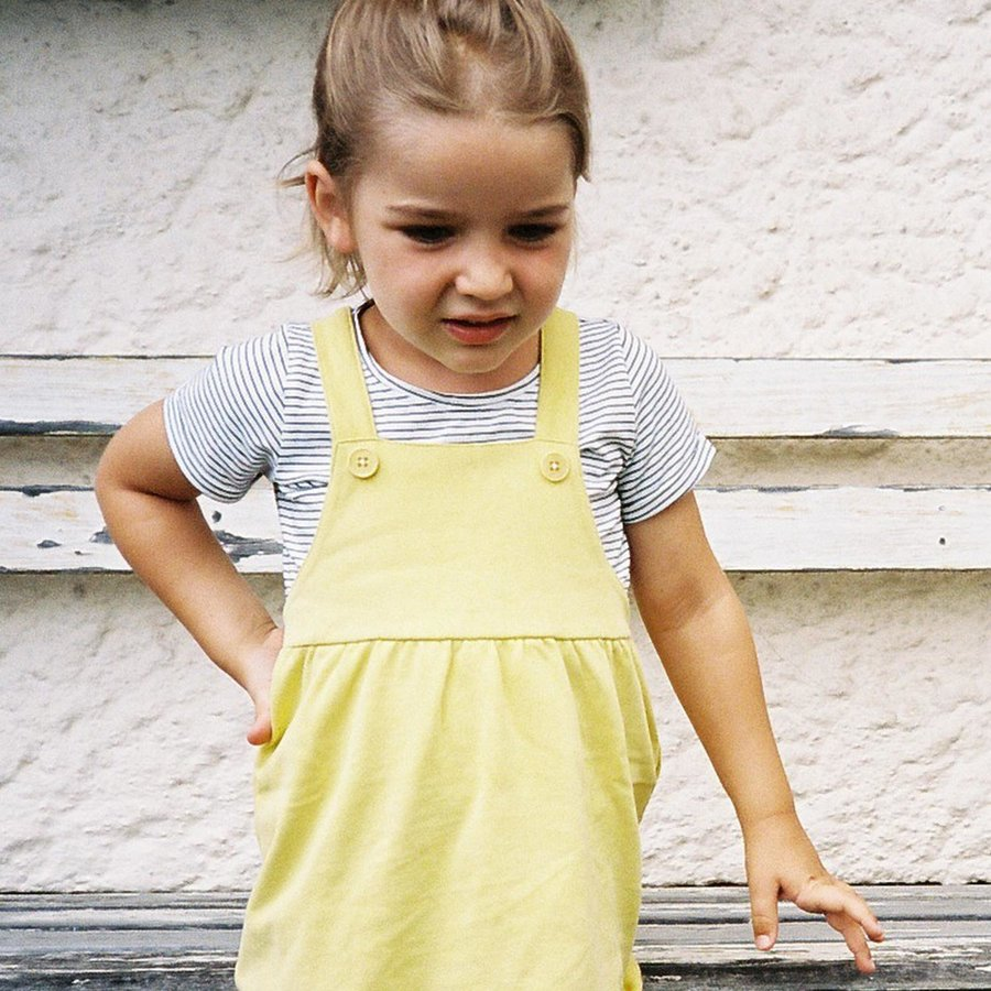 Frieda Frei Dungaree Dress - How Cute-2
