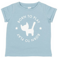 thumb-Frieda Frei T-Shirt - Supakat Blue-1