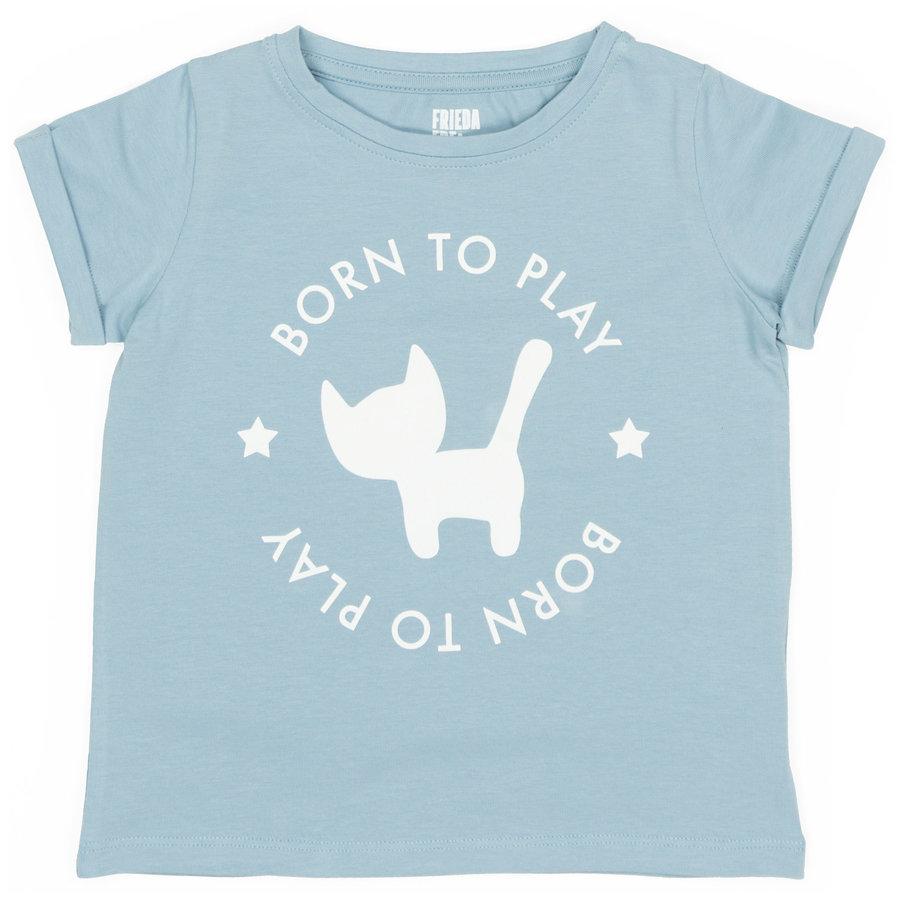 Frieda Frei T-Shirt - Supakat Blue-1