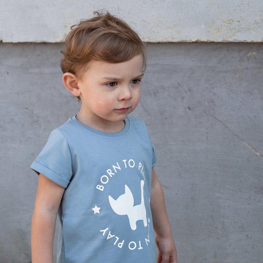 Frieda Frei T-Shirt - Supakat Blue-2