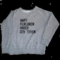 """thumb-2800 by Mini Monsters - """"Hart verloren onder den Toren"""" Sweater Grijs Vrouw-1"""