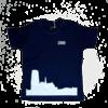 2800 by Mini Monsters 2800 by Mini Monsters - Skyline Mechelen T-shirt Blauw