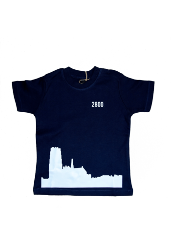 Skyline Mechelen T-shirt Blauw