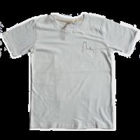 2800 by Mini Monsters - Mechelen Kathedraal T-shirt Wit