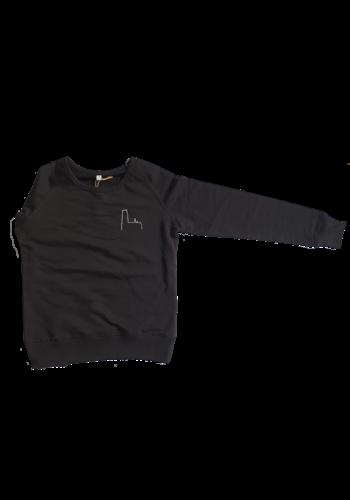 Kathedraal -  Volwassene sweater Zwart