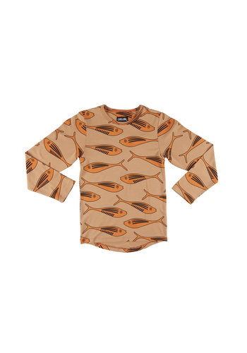 Gold fish - longsleeve (drop back)