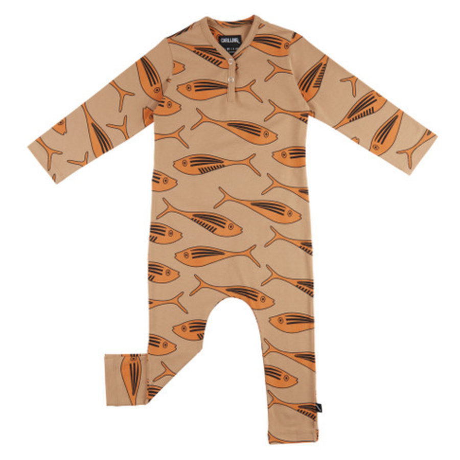 CarlijnQ - Gold fish - jumpsuit-1