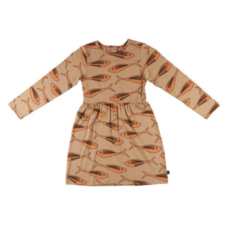 CarlijnQ - Gold fish - dress-1
