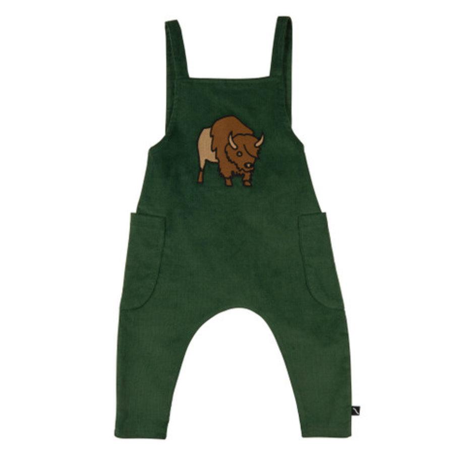 CarlijnQ - Bison - Salopette (with bison embroidery)-1