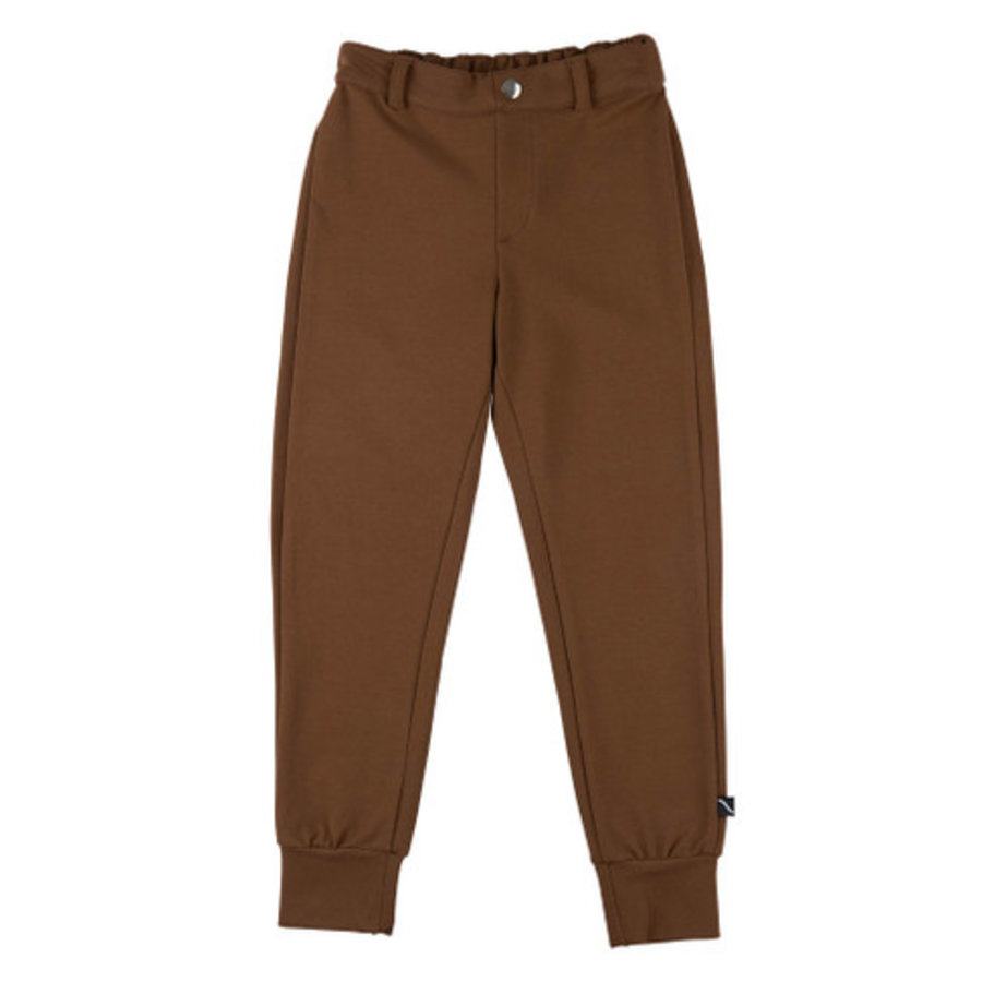 CarlijnQ - Basics - chino jogger (brown)-1