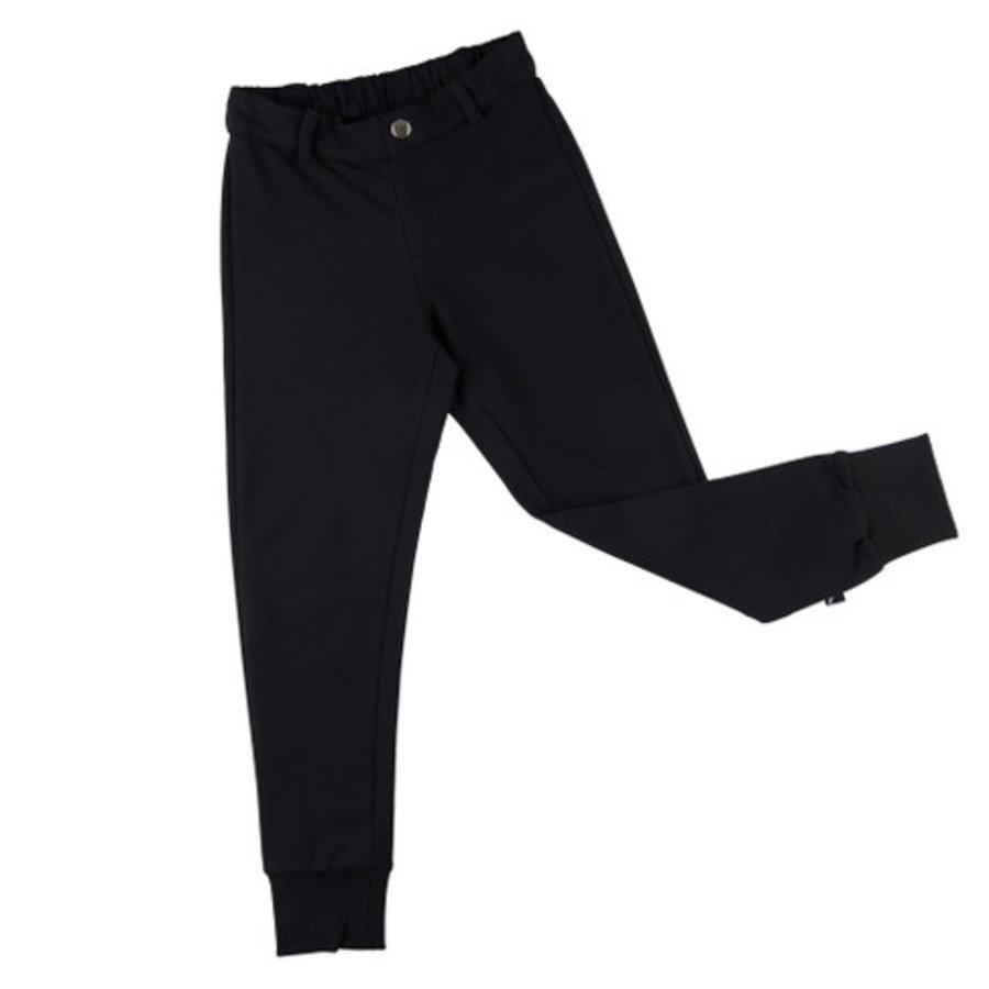 CarlijnQ - Basics - chino jogger (black)-1