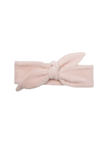 Headband Faded Pink Velour
