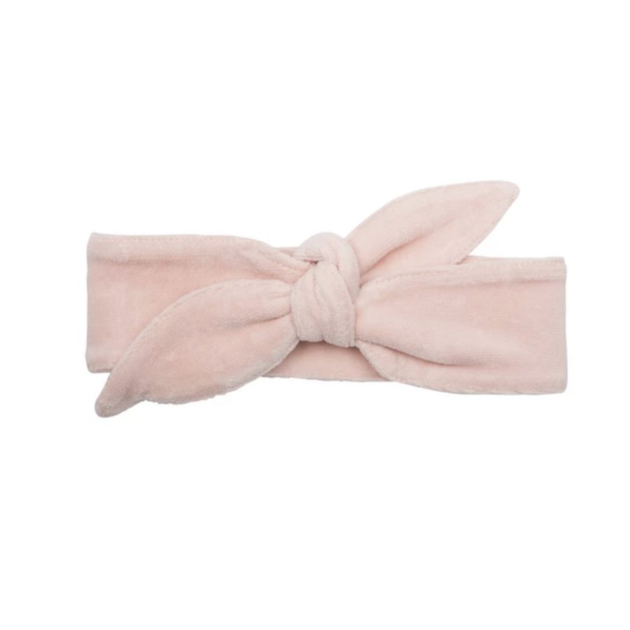 Little indians - Headband Faded Pink Velour-1