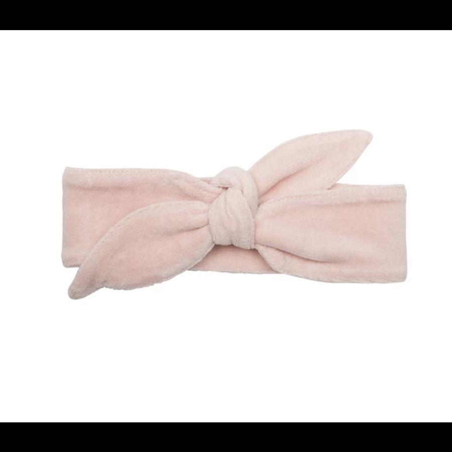 Little indians - Headband Faded Pink Velour-1