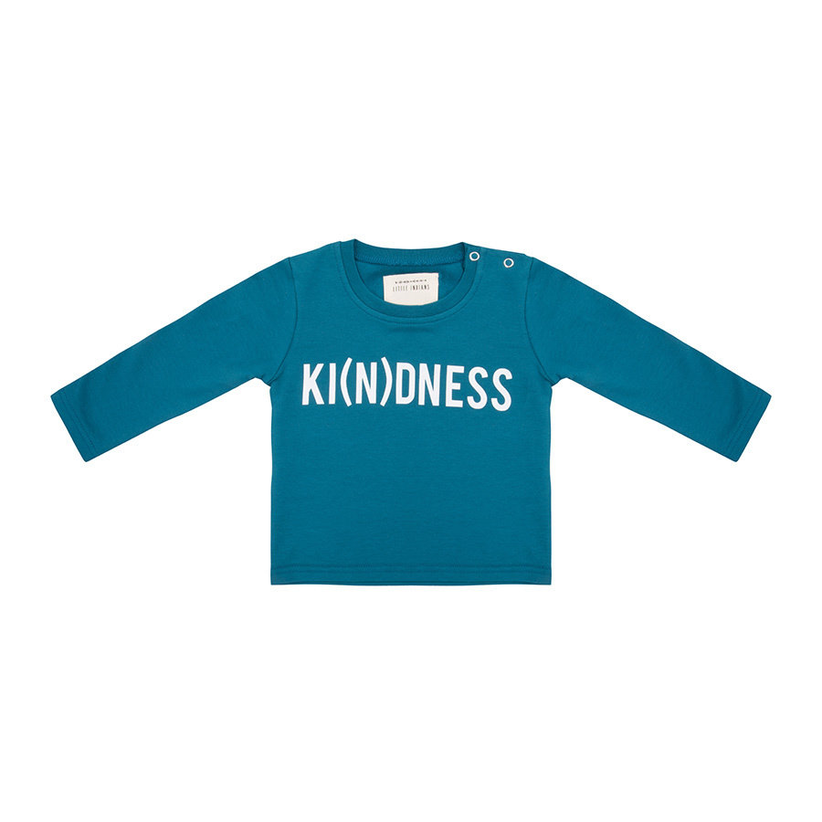 Little indians - Longsleeve Ki(n)dness Blue-1