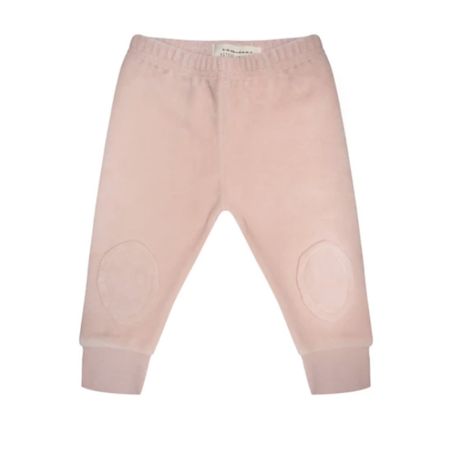 Little indians - Marlon Legging Faded Pink Velour-1