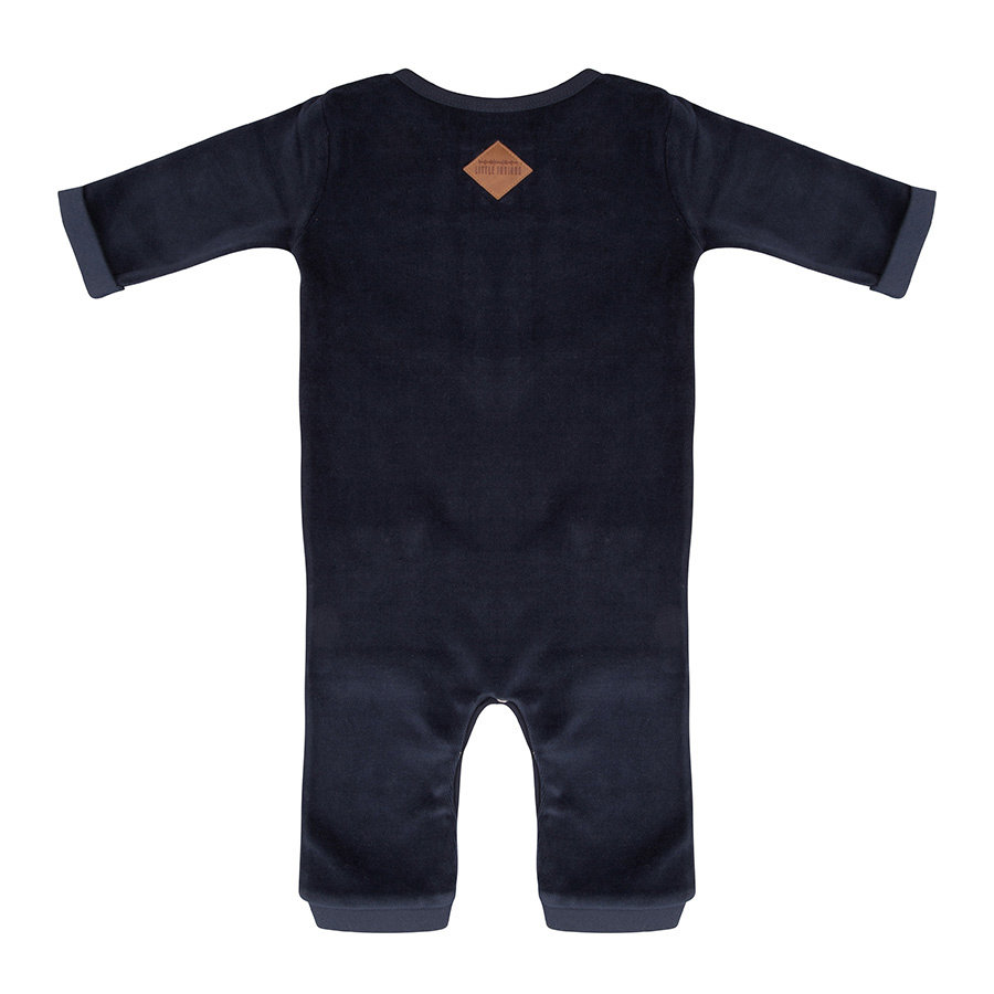 Little indians - Jumpsuit Tres Bien Total Eclipse Velour-2