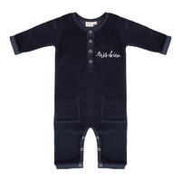 thumb-Little indians - Jumpsuit Tres Bien Total Eclipse Velour-1