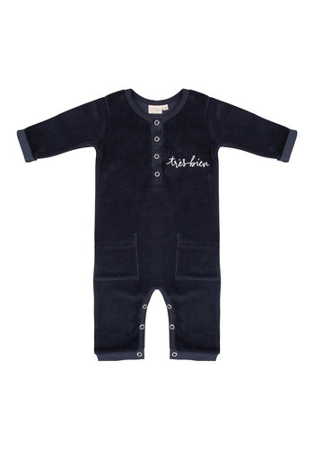 Jumpsuit Tres Bien Total Eclipse Velour