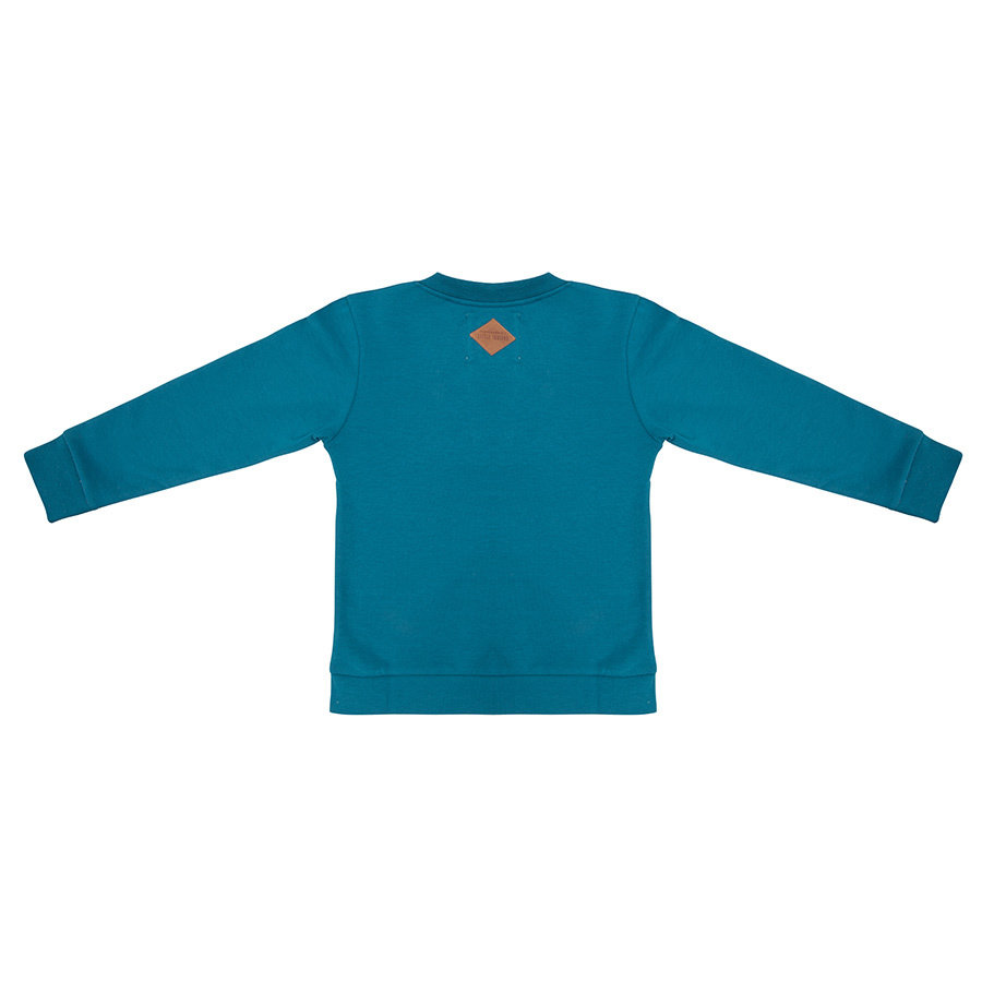 Little indians - Sweater Colourful Rainbow Blue-2