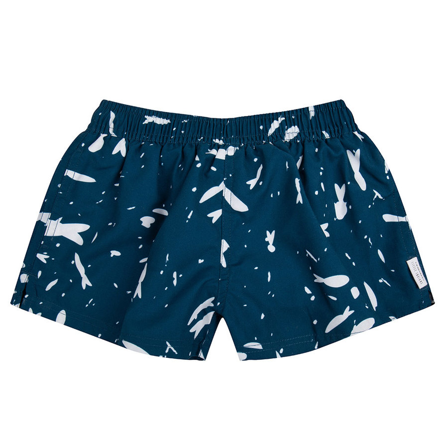 Little indians - Swimshort Fish Legion Blue-1