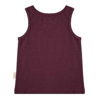 thumb-Little indians - Tanktop Tropical Aubergine-2