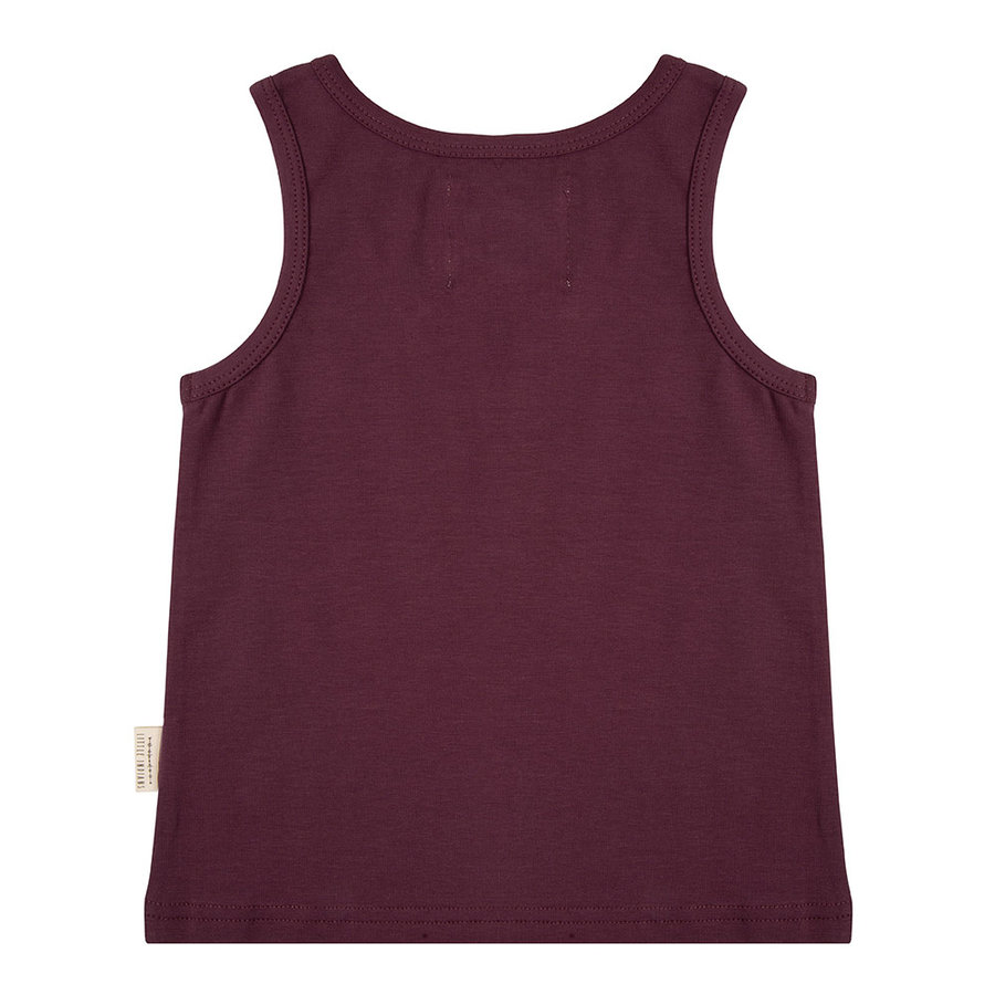 Little indians - Tanktop Tropical Aubergine-2
