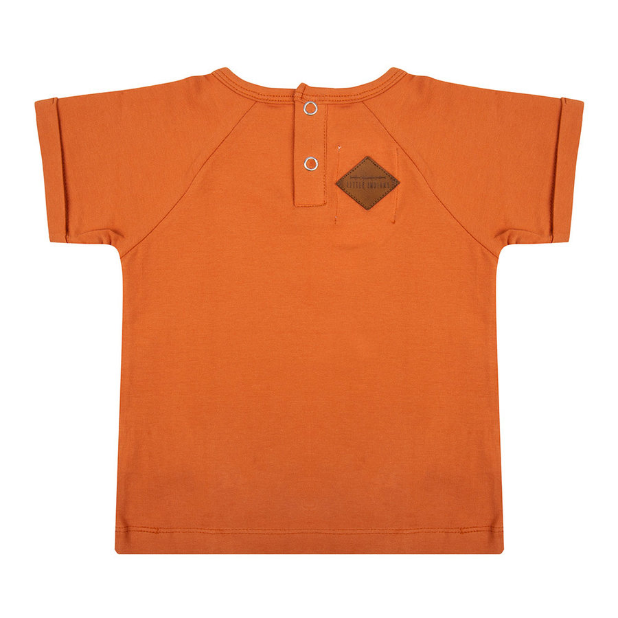 Little indians - T-shirt Ready for take off Bombay Brown-2