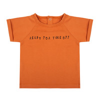 thumb-Little indians - T-shirt Ready for take off Bombay Brown-1